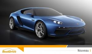 Découvrez la Lamborghini Asterion, premier supercar hybride rechargeable