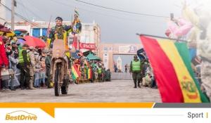 David Casteu conserve la 10e place du Dakar 2015