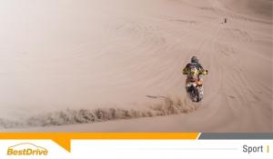 David Casteu gagne encore 2 places au général du Dakar 2015