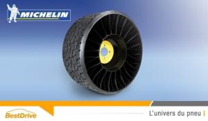 Technologie « pneus sans air » : découvrez Michelin Tweel