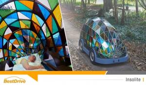 Une voiture autonome atypique entièrement dédiée au sommeil