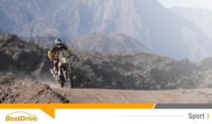 David Casteu gagne une place au classement général du Dakar 2015