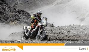 David Casteu conserve sa place et reste confiant pour la suite du Dakar 2015