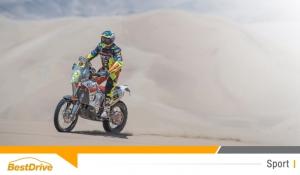 David Casteu est 12e du Dakar 2015