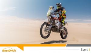 David Casteu entre dans le Top 10 du Dakar 2015