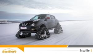 Le Nissan Juke Nismo RSnow est le véhicule idéal pour rouler sur la neige