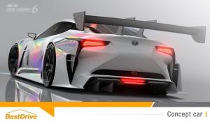 Lexus rejoint l'écurie Gran Turismo avec la LF-LC GT Vision