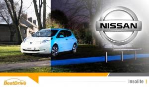 Nissan lance une Leaf à la peinture phosphorescente