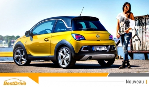 L'Opel Adam Rocks s'offre un relooking survitaminé