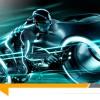 La moto Light Cycle de Tron : Legacy mise aux enchères