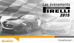 Comment participer aux événements Pirelli 2015 ?