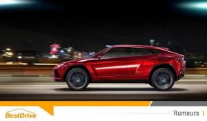 Lamborghini Urus : le constructeur italien commercialisera bien un SUV