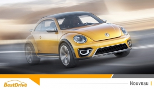 La Volkswagen Coccinelle Dune en concessions