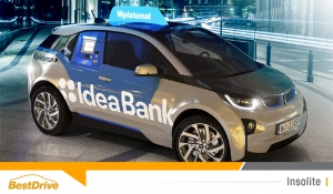 Une banque polonaise installe un distributeur de billets dans une BMW i3