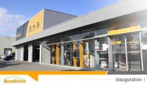 Inauguration de BestDrive Aix Les Milles : l'enseigne orange et noir arrive dans le Sud