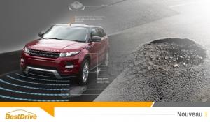 Jaguar Land Rover part à la chasse aux nids-de-poule