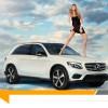 Doutzen Kroes prend la pose pour Mercedes