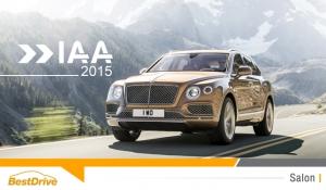 Avant le Salon de Francfort, Bentley dévoile les photos du SUV Bentayga