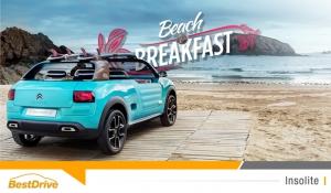 Passez la nuit au Beach & Breakfast Citroën !