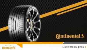 Découvrez le nouveau pneu Continental SportContact 6