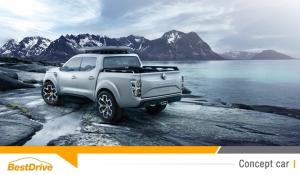 Renault Alaskan Concept : la marque au losange part à l'assaut des pick-up