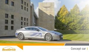 Aston Martin part à la conquête de la voiture électrique avec la RapidE