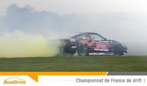 Le Champion de France 2015 de drift sacré à Nogaro