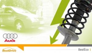 Pour Audi, chaussée déformée = électricité