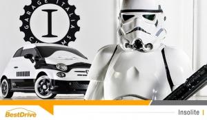 En attendant « Star Wars 7 : le réveil de la Force », découvrez la Fiat 500e Stormtrooper
