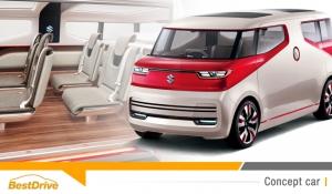 Retour sur le Salon de Tokyo 2015 : le Suzuki Air Triser Concept
