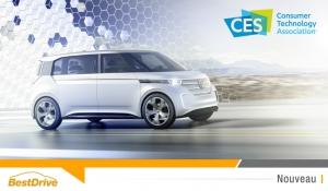 CES 2016 : Volkswagen Budd-e, le monospace zéro émission qui préfigure l'année 2019