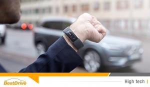 Communiquez avec votre Volvo grâce au bracelet connecté Microsoft Band 2
