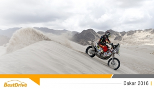 Dakar 2016 : l'étape 12, une étape plaisir pour David Casteu