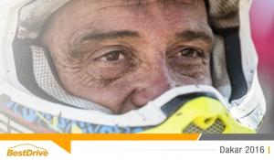Dakar 2016 : David Casteu passe la ligne d'arrivée à Rosario !