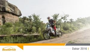 Dakar 2016 : David Casteu se maintient à la 13e place du classement général