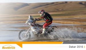 Dakar 2016 : David Casteu face à un problème mécanique sur l'étape 7