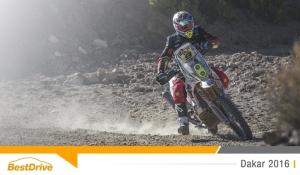 Dakar 2016 : David Casteu profite enfin d'une belle spéciale !
