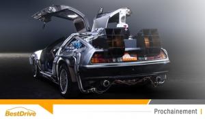 La DeLorean DMC-12 is « back to the future »