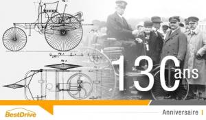 L'automobile fête ses 130 ans
