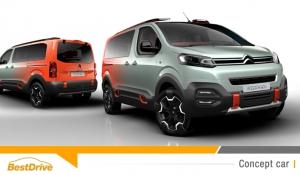 SpaceTourer Hyphen Concept, ou le mariage réussi de Citroën et de la musique électro