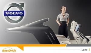 Concept Lounge Console : l'intérieur grand luxe de la Volvo S90 Excellence