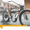Cette moto vintage est en fait un vélo électrique !
