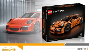 Porsche 911 GT3 RS LEGO, le luxe accessible