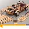 Toyota Setsuna, le concept car poétique en bois