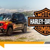 Jeep Renegade Hell's Revenge : tribute to Harley Davidson
