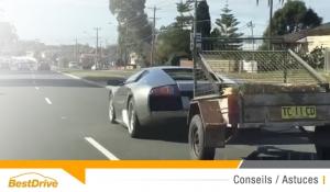 Conduire en tout sécurité avec une remorque ou une caravane