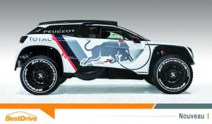 Tout savoir sur la Peugeot 3008 DKR