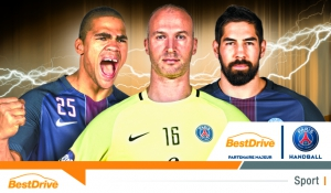 BestDrive devient partenaire majeur du Paris Saint-Germain Handball