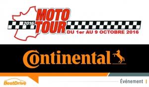 Continental partenaire du Moto Tour 2016