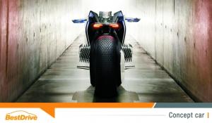 Motorrad Vision Next 100 : la moto du futur par BMW